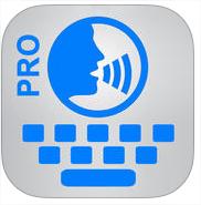 Application Voice Keyboard Pro gratuite sur iOS (au lieu de 9.99€)