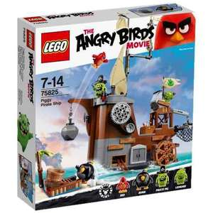 LEGO The Angry Birds Movie 75825 - Le bateau pirate du cochon