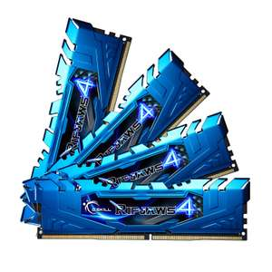 Kit Mémoire G.Skill RipJaws 16Go (4x4Go) - DDR4, 2666Mhz, CL16