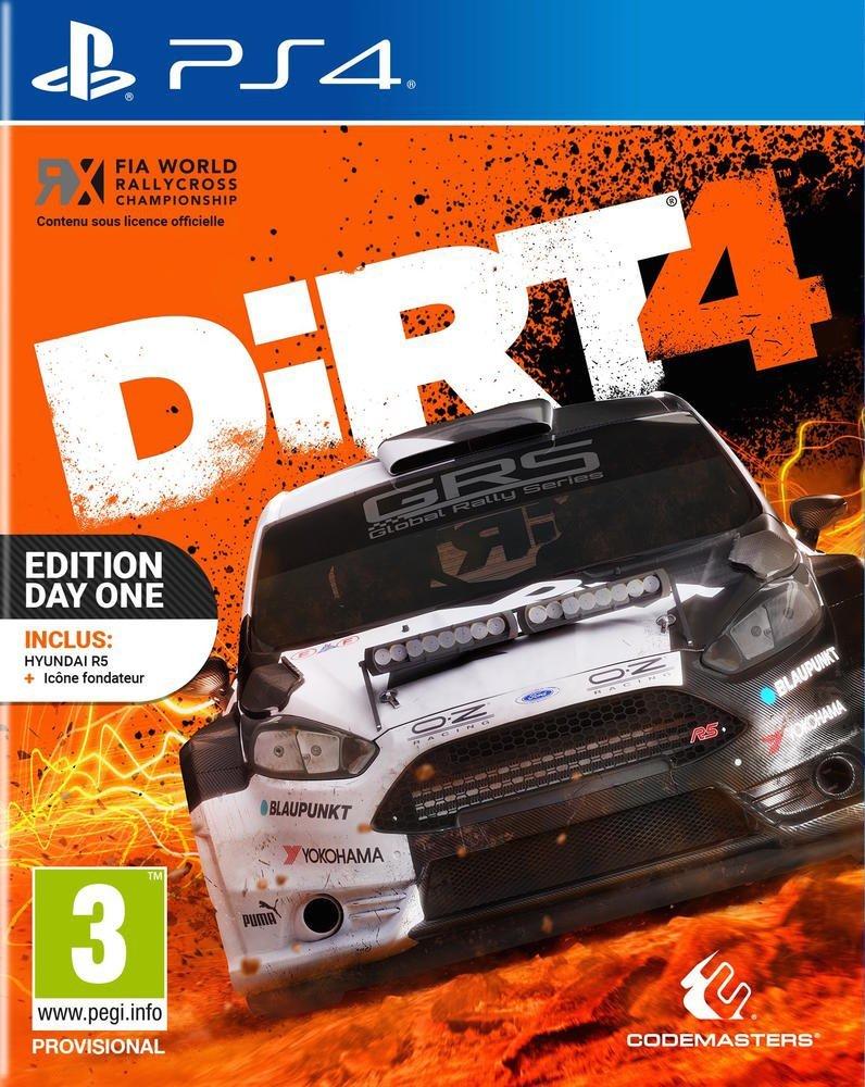 Dirt 4 - Édition Steelbook sur PS4