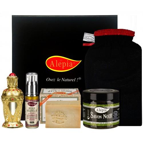 Coffret de 5 produits de beauté Alépia Royal