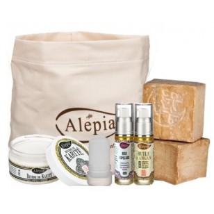 Sélection de produits en promotion - Ex : trousse de toilette de 6 produits de beauté Découverte