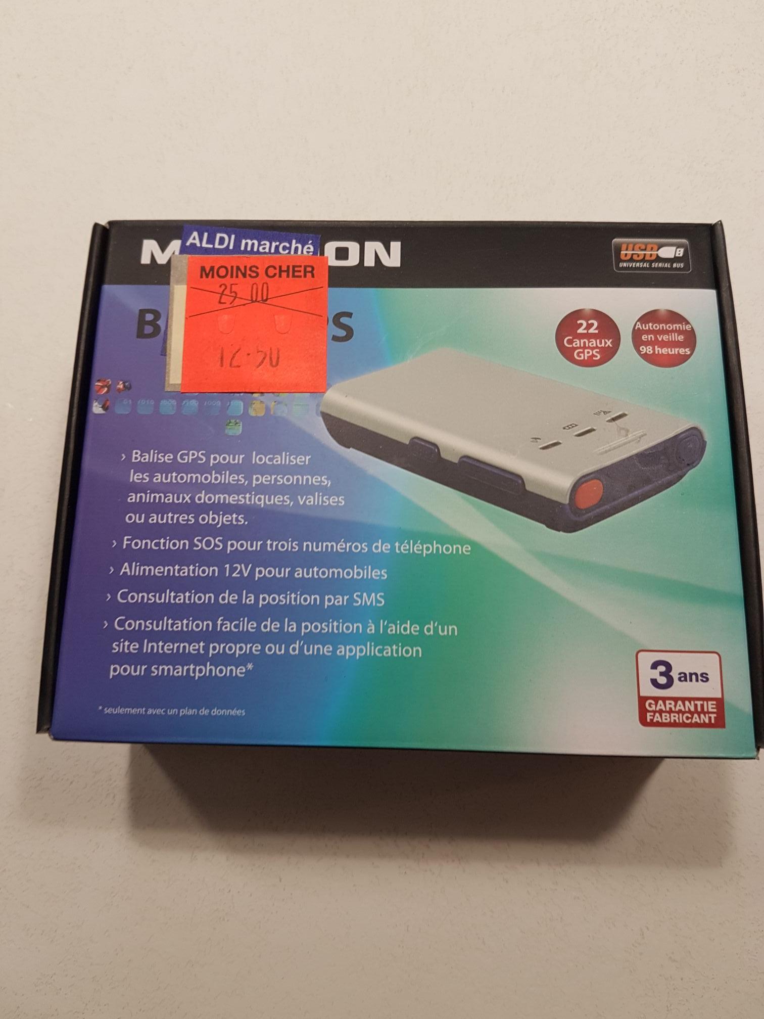 Balise GPS Maginon - Villers Outreaux (59)