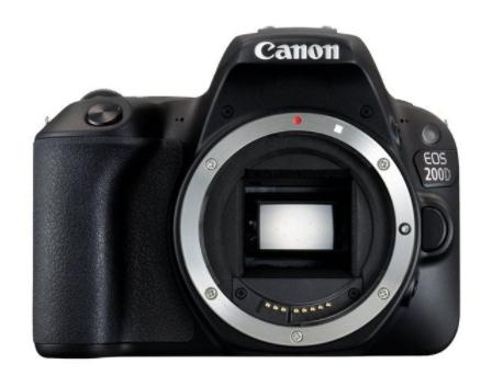 Pack Appareil photo Reflex EOS 200D + 18-55 IS STM (Noir) (+33.60€ en super points)