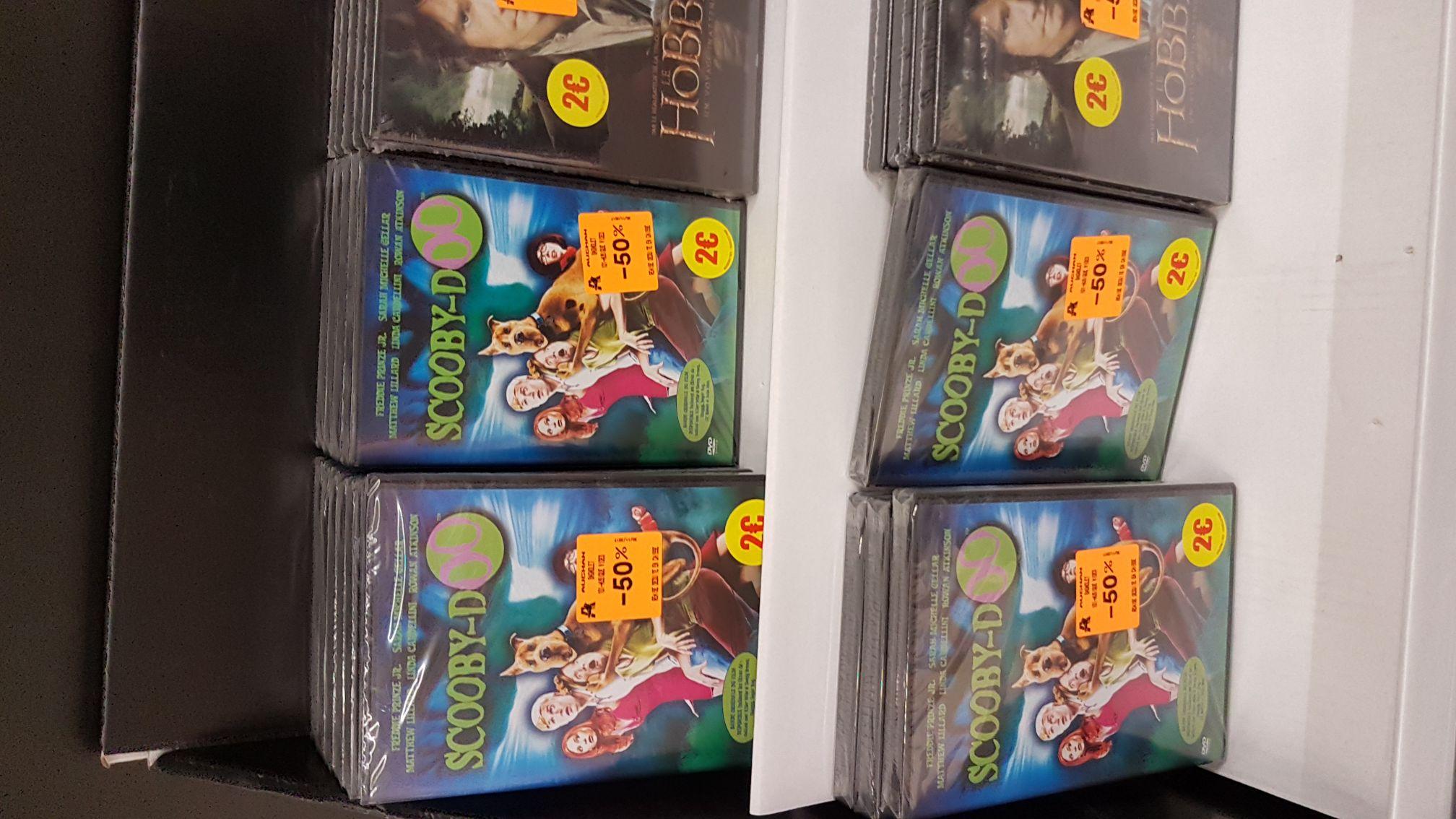 Sélection de DVD en promotion. Ex : The HOBBIT un voyage inattendu - Auchan Bagnolet (93)