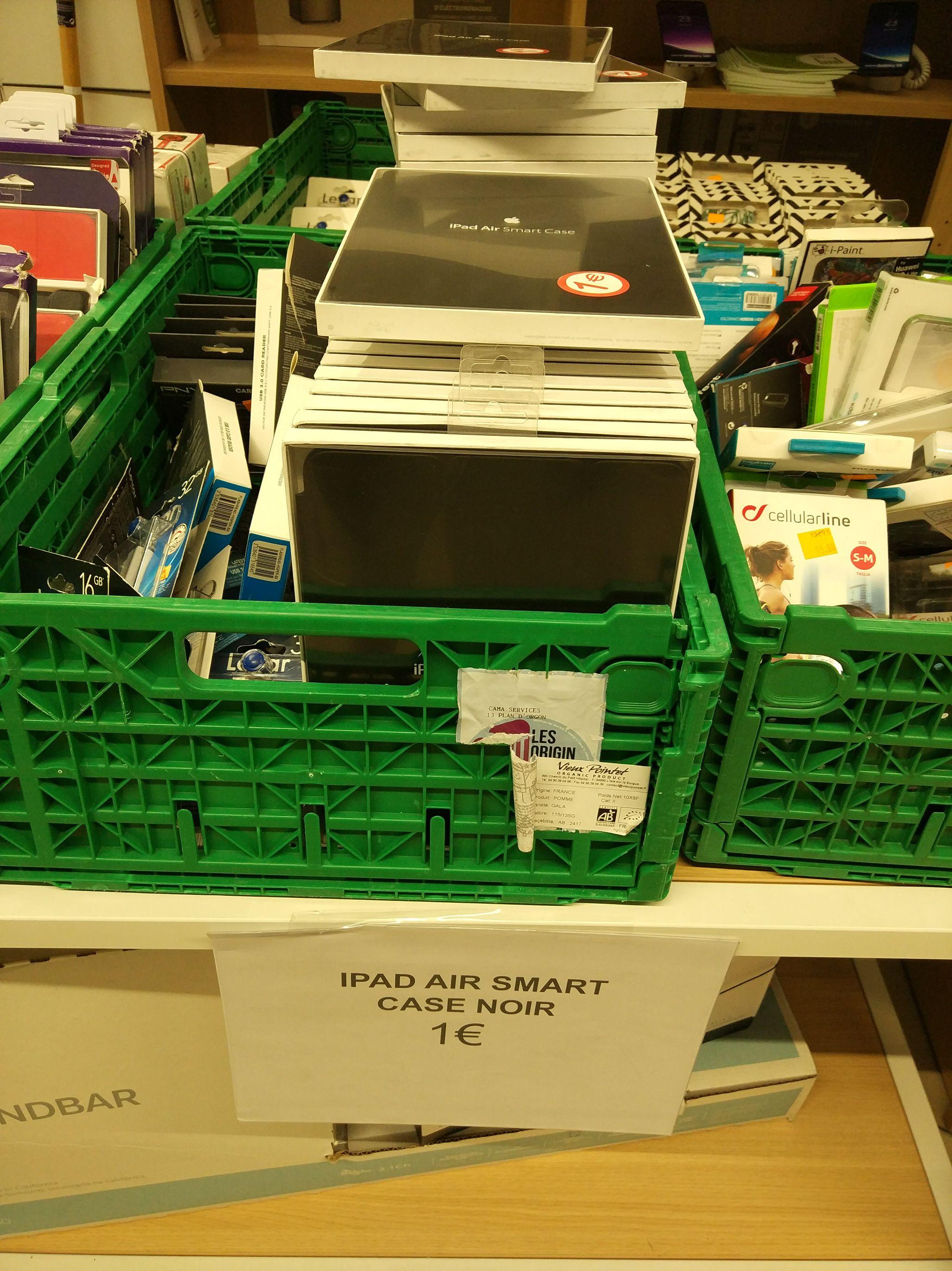 Smart case pour iPad Air en magasin - Millénaire Aubervilliers (93)