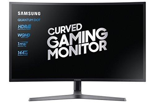 """Écran PC 32"""" Samsung C32HG70 - Incurvé, FreeSync 2, 144hz, Dalle VA, 1 ms, Quantum dot"""