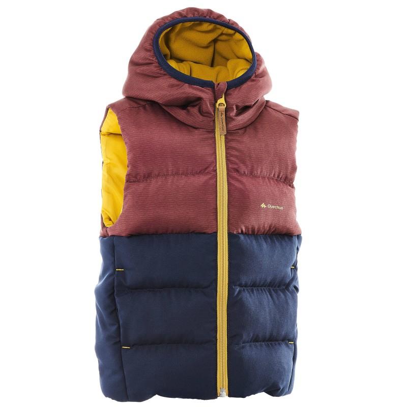 Doudoune sans-manche de randonnée Quechua X- Warm pour enfant