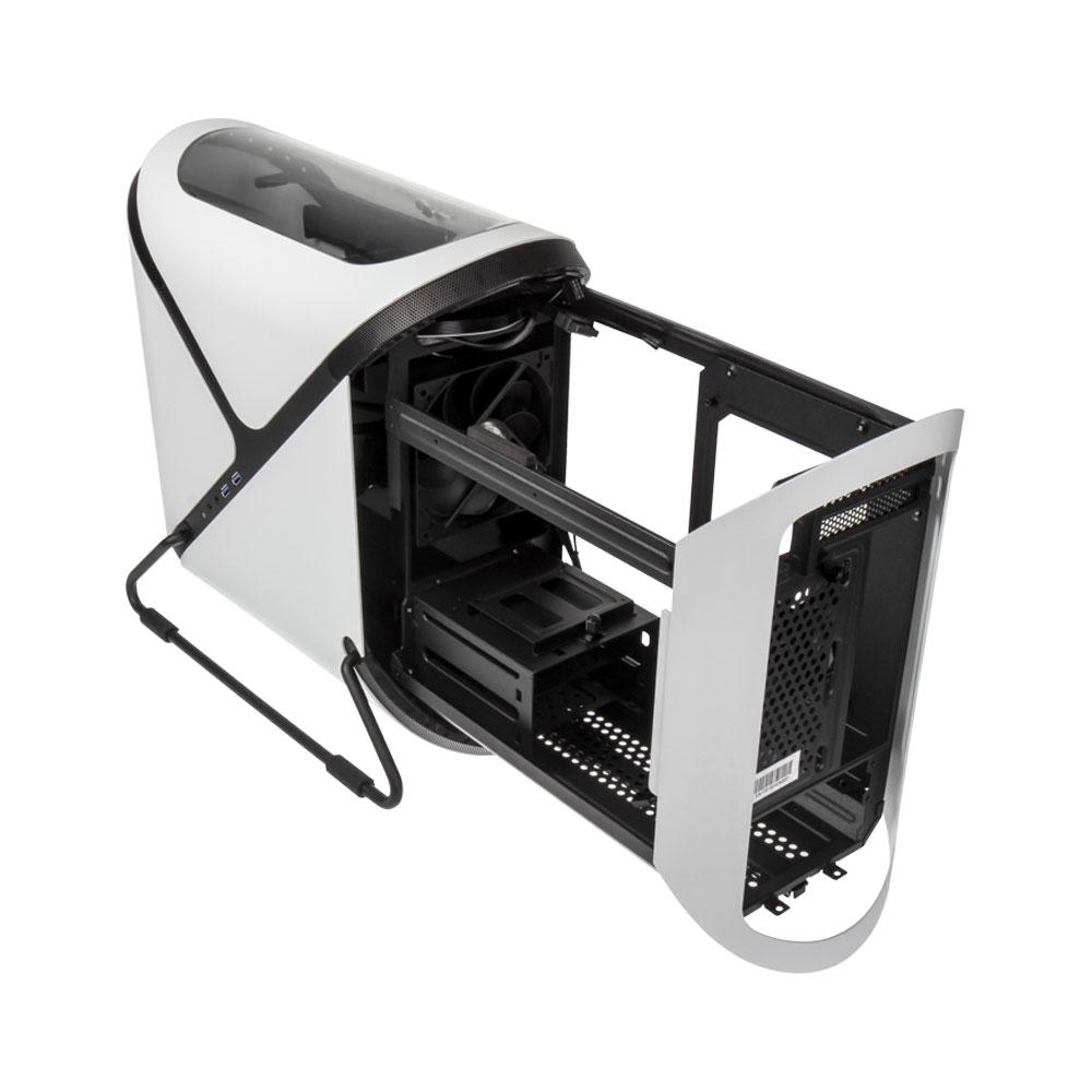 Boitier PC Mini ITX BitFenix Portal - Noir ou Blanc (Avec ou Sans Fenêtre)