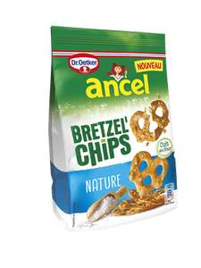 Lot de 4 Paquets de Bretzel'Chips Ancel chez ATAC supermarché (via Shopmium)