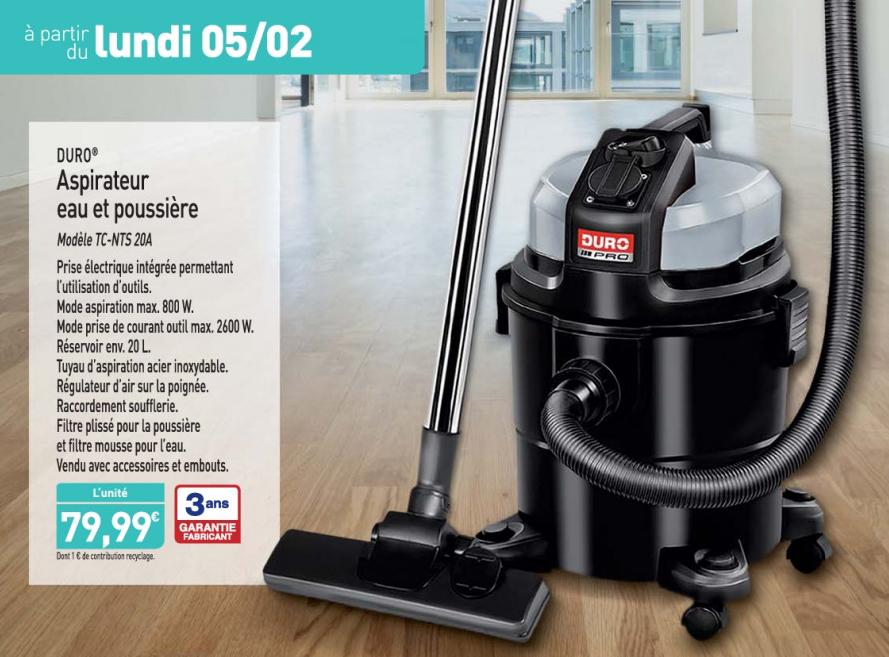 aspirateur eau et poussi re 800w. Black Bedroom Furniture Sets. Home Design Ideas
