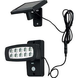 Eclairage solaire à LED avec détecteur de mouvement
