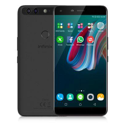 """Sélection de smartphones Infinix en promotion - Ex : 5.98"""" Zero 5 - Helio P25, 6 Go de RAM, 64 Go, 4G (B20), 4350 mAh, différents coloris"""