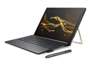 "HP Spectre x2 12-c001nf Ultrabook 2-en-1 12"" 3K2K tactile Argent cendré (Intel Core i7, 16 Go de RAM, SSD 512 Go, Intel Iris Plus 640, Windows 10)"
