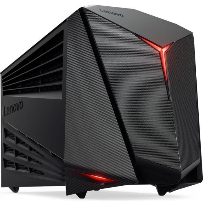 Ordinateur Lenovo Y720 Cube-15ISH - i5-7400, GTX-1050 Ti, 8 Go de RAM, 1 To + 128 Go en SSD