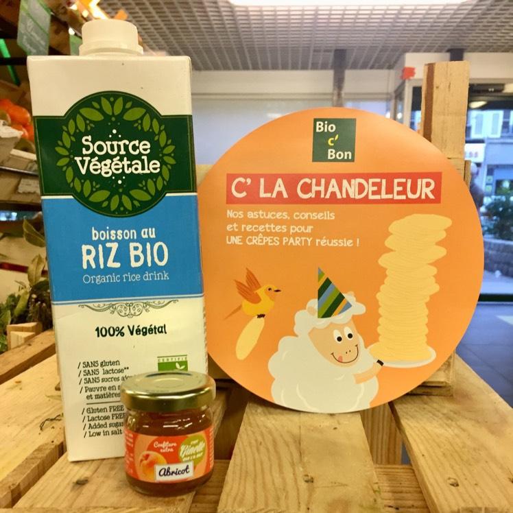 1 boisson Source Végétale achetée = 1 pot de confiture biologique offert chez Bio c' Bon