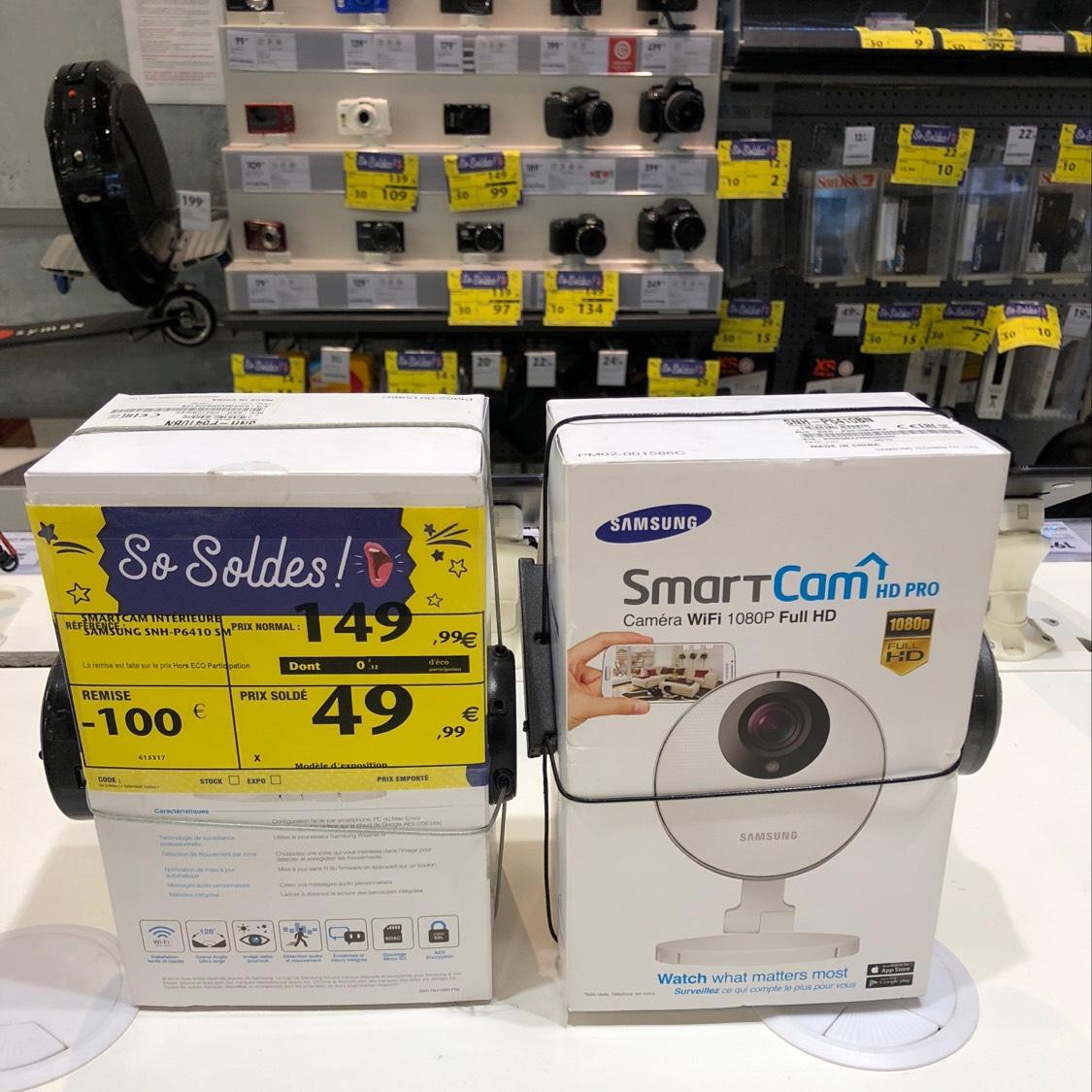 Sélection de produits en promotion - Ex: Caméra Samsung SmartCam HD Pro - Toulouse (31)