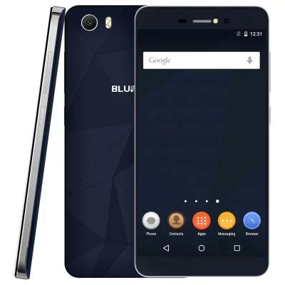 """Smartphone 5"""" Bluboo Picasso - MT6580, 2 Go de RAM, 16 Go, 3G, bleu"""