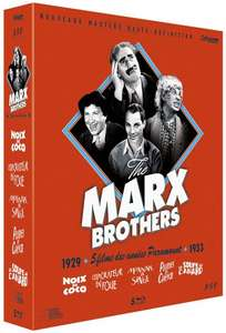 Coffret Blu-ray Marx Brothers Cult' Edition Collector