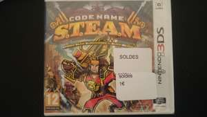 Code Name : S.T.E.A.M. sur Nintendo 3DS - Claye-Souilly (77)