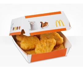 1 boîte de 9 Chicken McNugget offerte pour 1 menu Maxi Best Of acheté