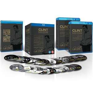 Coffret Blu-ray Clint Eastwood - 20 Films + 2 documentaires