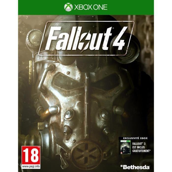 Fallout 4 sur Xbox one (+ code pour Fallout 3)