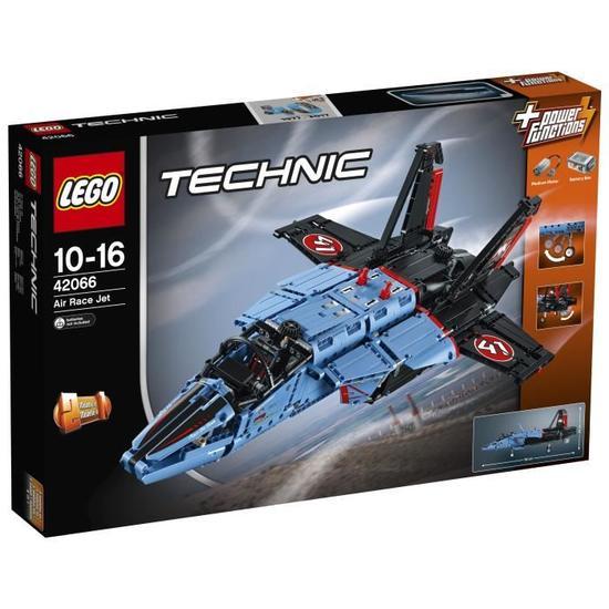 Jouet Lego Technic 42066 -  L'avion Jet de Course