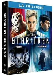 Coffret Blu-ray Star Trek : La trilogie - Star Trek + Star Trek Into Darkness + Star Trek Sans limites