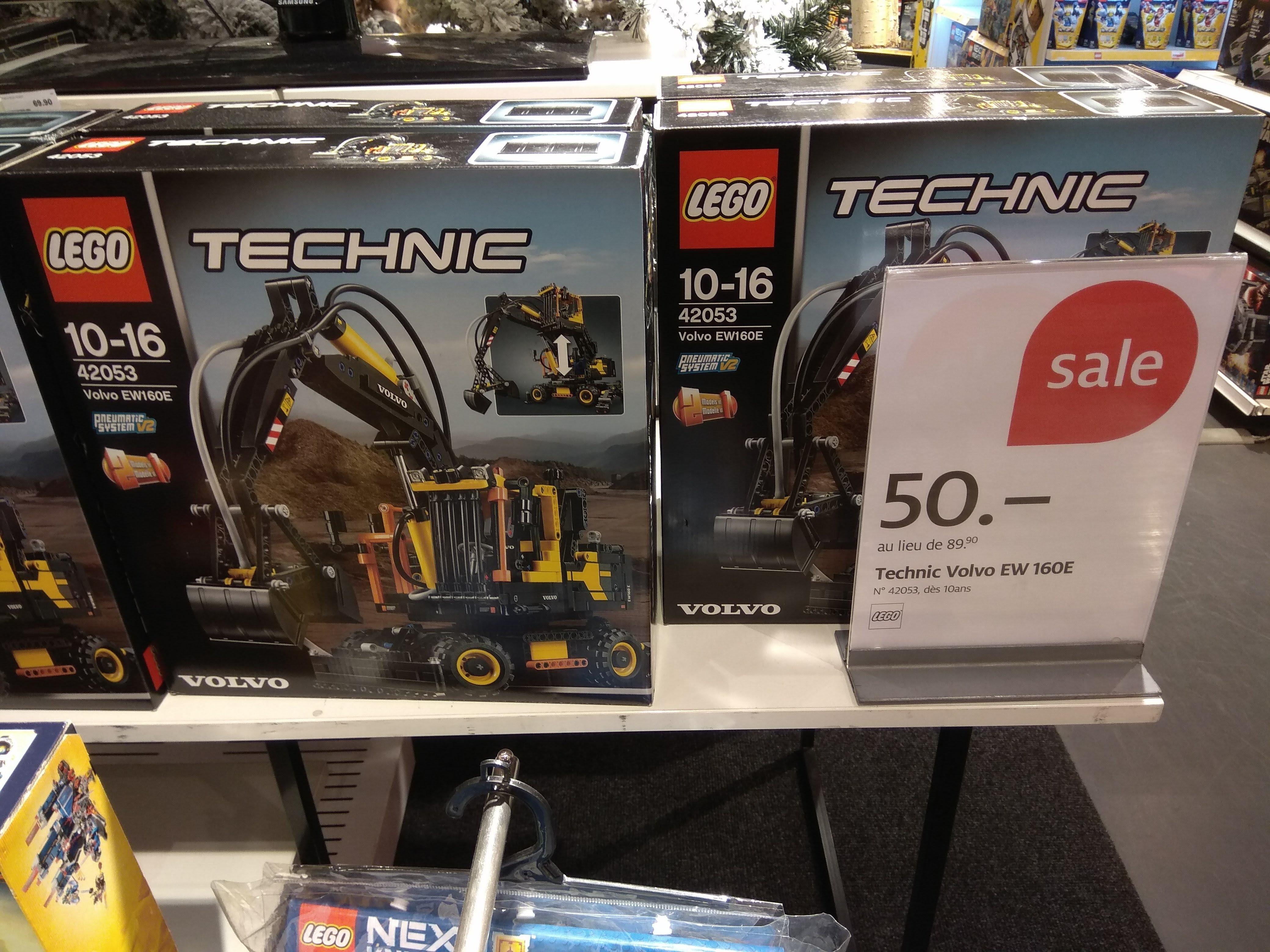 Sélection de Lego, Playmobil et Nerf en promotion - Ex : Lego Technic 42053 - Manor Genève (Frontaliers Suisse)