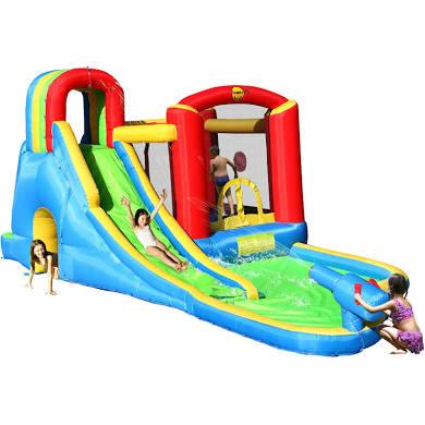 Aire de jeux aquatique gonflable Happy Hop - 8 jeux