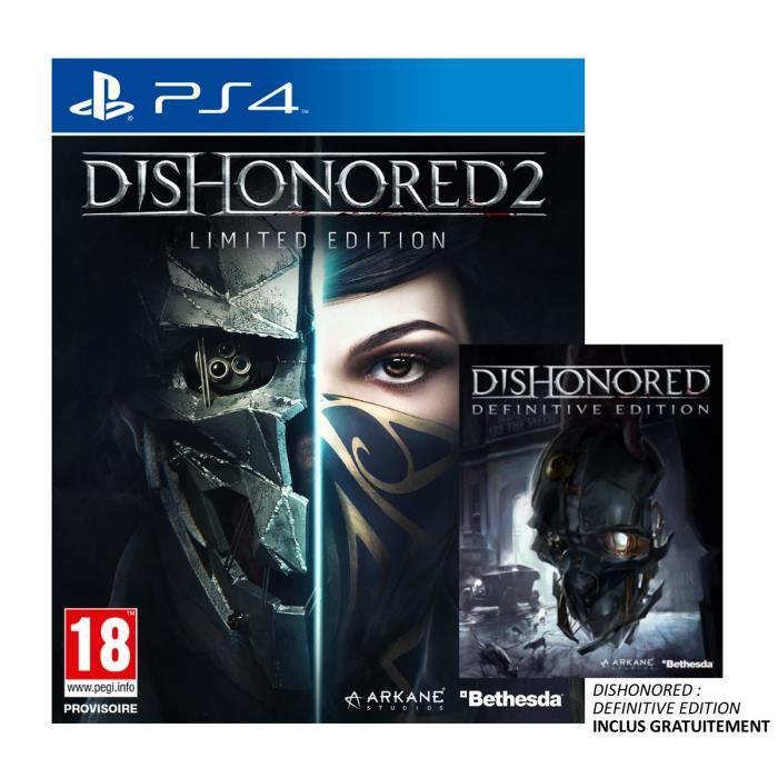 Sélection de jeux sur PS4 en promotion - Ex : Dishonored 2 Limited Edition sur PS4