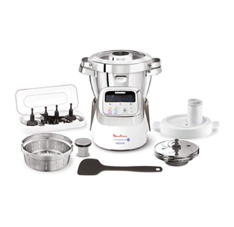 Robot de cuisine connecté Moulinex i-Companion XL (HF906B10) + lot de 7 accessoires chez El Corte Inglés