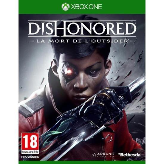 Dishonored La mort de l'Outsider à 9.99€ sur Xbox One et 11€ sur PS4