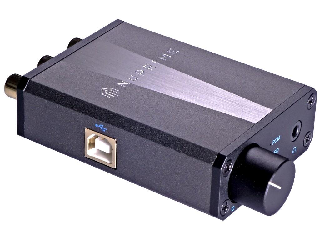 DAC audio USB NuPrime µDSD - 24 bits / 384 kHz - DSD - USB asynchrone