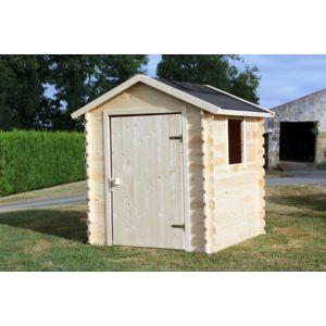Maisonnette en bois brut Romane - Soulet