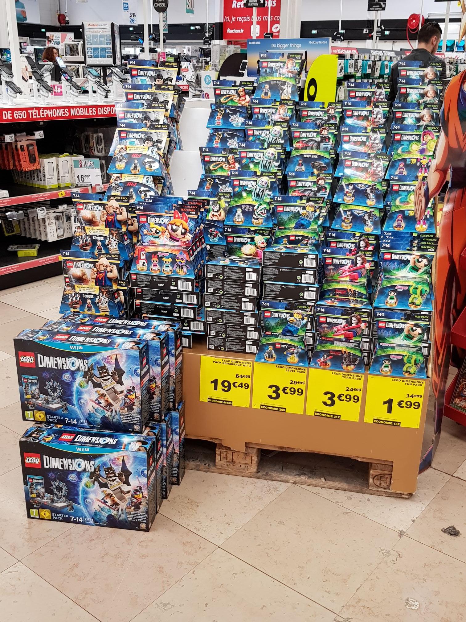 Lego dimensions level pack ou team pack - Saint-Jean-de-la-Ruelle (45)