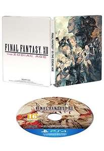 Final Fantasy XII: The Zodiac Age - Édition Limitée sur PS4 (avec steelbook)