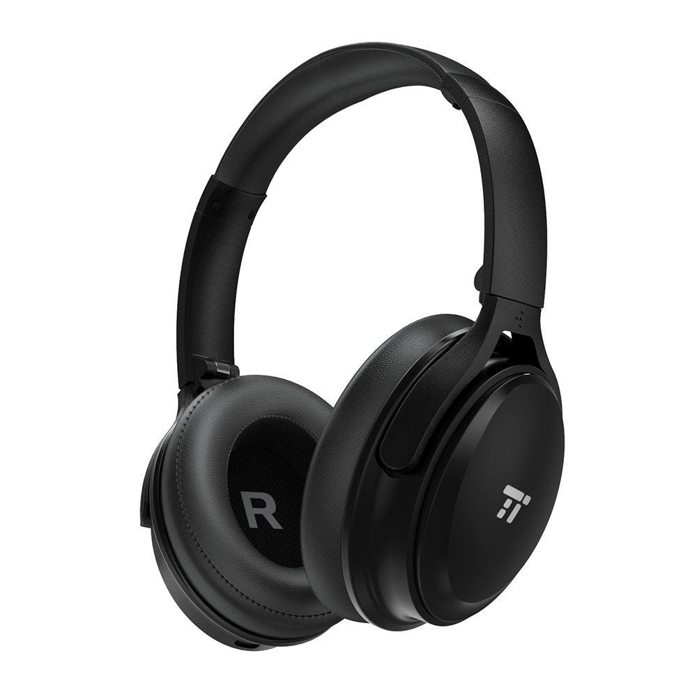 Casque Bluetooth TaoTronics Noir - Réduction de Bruit Active, Pliable (vendeur tiers)