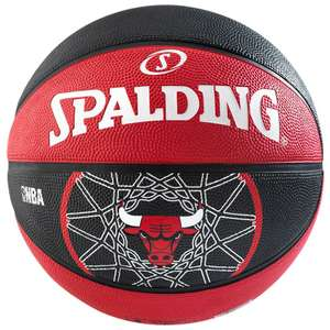Sélection de ballons de basket-ball Spalding NBA (taille 7) - Ex : Team Chicago Bulls