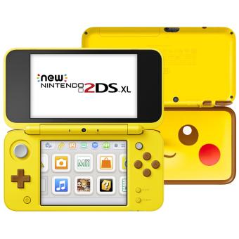 Sélection de produits en promotion - Ex : console portable Nintendo New 2DS XL - Pikachu Edition chez Media Markt (frontaliers Suisse)