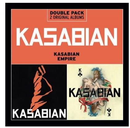 Coffret 2 CD  kasabian : albums kasabian + empire