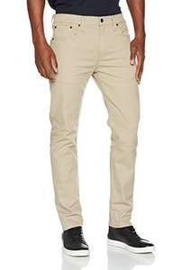 Jean Levi's 502 Regular Taper Fit - beige, taille W30/L34