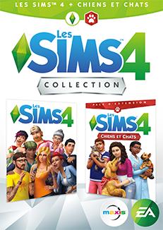 Jusqu'a -50% sur Les Sims 4 & les extension sur PC (Dématérialisé) -  Ex: Sims 4 & Extension Chien et chat