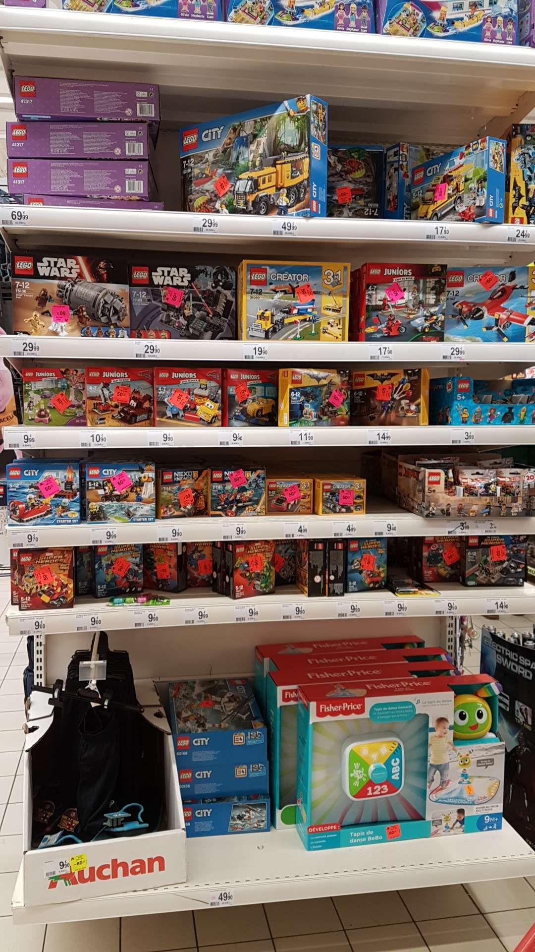 Sélection de Lego à -50% (Star Wars, Batman, Marvel...) - Ex: Lego Star Wars 75136: Droid Escape Pod - Marsac (24)