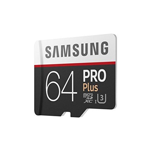 Carte micro SDXC Samsung PRO PLUS 64GB + Adaptateur