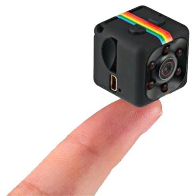 Quelima SQ11 Mini Caméra de DVR 1080p HD  -  Noir
