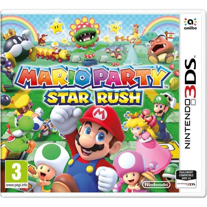 Mario Party Star Rush sur Nintendo 3DS