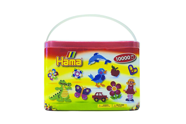 [Prime ] Hama 202-67 - Baril de 10000 Perles à Repasser - Coloris aléatoire