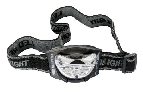 Trespass guidage LED Lampe frontale 3